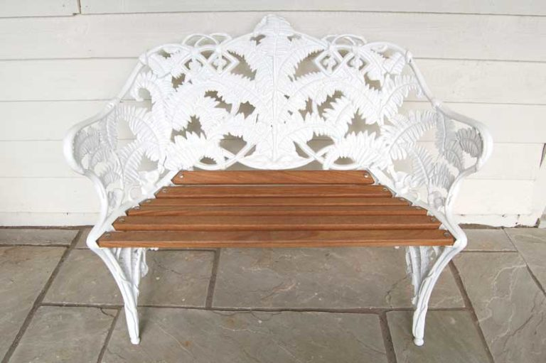 Regency Bench made in the UK by a craftsman using traditional methods. £395. Buy online or visit Debden Barns Antiques Saffron Walden, Essex.
