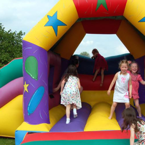 Bouncy Toms at Debden Barns Saffron Walden
