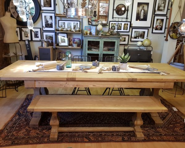 Make this Christmas Memorable with this Beautiful Elm Dining Table